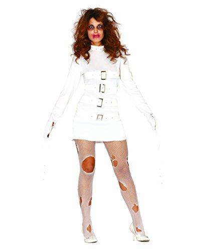Irrenanstalt Kostüme Halloween (Irrenanstalt Zwangsjacke Frauen Kostümkleid für Halloween)