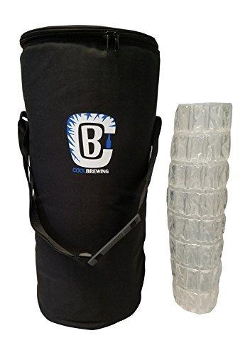 Keg Kühler Bundle für Home Brew-Bier Kühler für 5g Keg & Corny Keg mit Eis Tabelle/Wrap by COOL Brauen