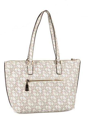 GUESS HERITAGE SPORT SMALL TOTE SG456722 BIANCO