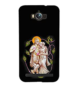 printtech Lord God Radha Krishna Back Case Cover for Asus Zenfone Max ZC550KL