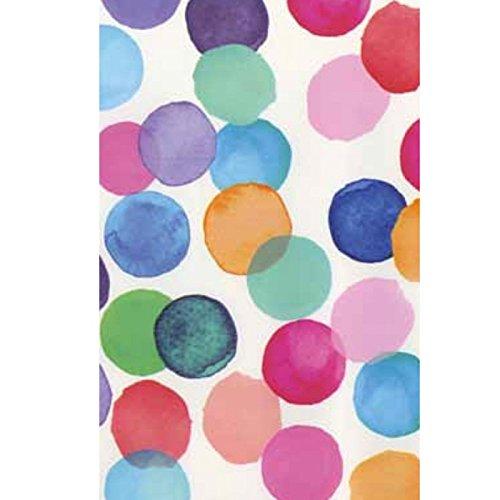 *Klebefolie – Möbelfolie Julia bunte Punkte DOTS 45 cm x 200 cm Dekorfolie Selbstklebende Folie mit modernen bunten Dekor – Selbstklebefolie*