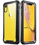 i-Blason Coque iPhone XR, Coque Intégrale Anti-Choc Bumper avec Dos Transparent et...