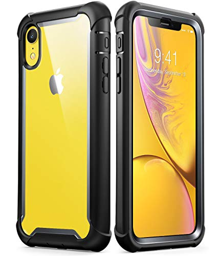 I-Blason Funda iPhone XR Transparente [Ares] 360 Grados