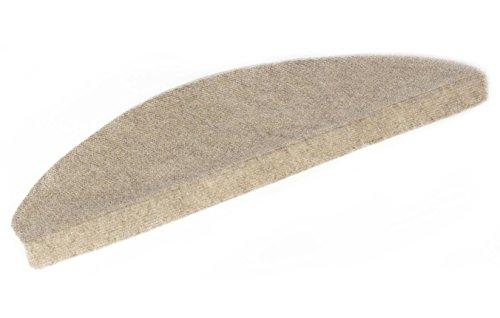 Andiamo alfombra para la escalera en beige, autoadhesivas, fácil de limpiar