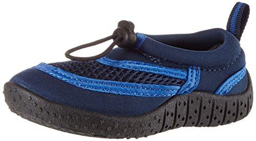 Beck Unisex-Kinder Aqua Dusch-& Badeschuhe Blau (Dunkelblau)