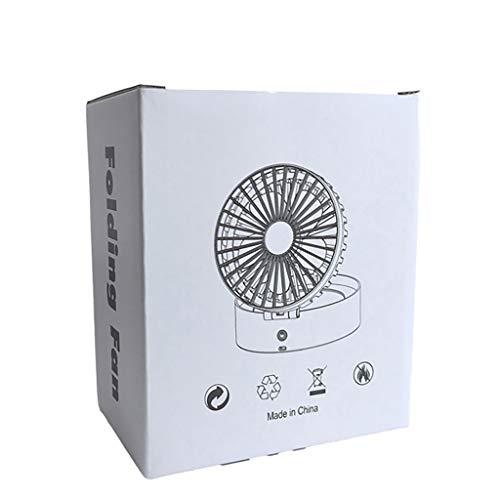 Hirolan Mini Handventilator Persönlicher tragbarer Tischventilator für Kinderwagen, der den elektrischen Ventilator abkühlt