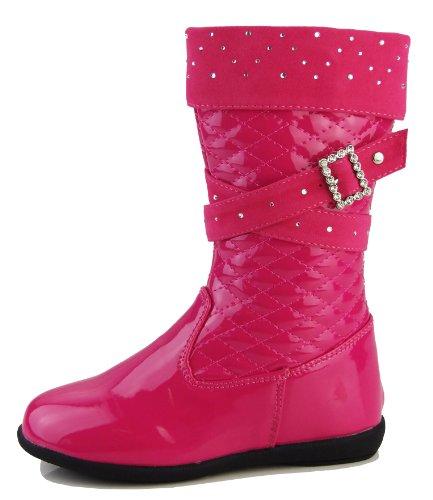 Footwear Studio , Escarpins pour fille Bottes Rose Diamante