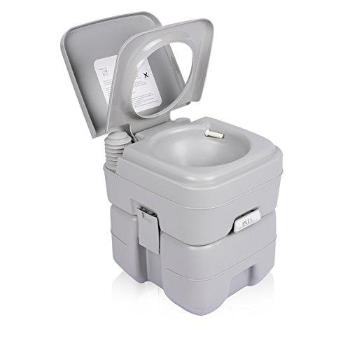 FLOUREON Camping Toilette Toilet Portable 20L Outdoor Products e3e2979d008