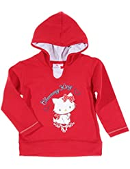 Sweat coton à capuche enfant fille charmmy kitty 5 couleurs de 3 à 10ans