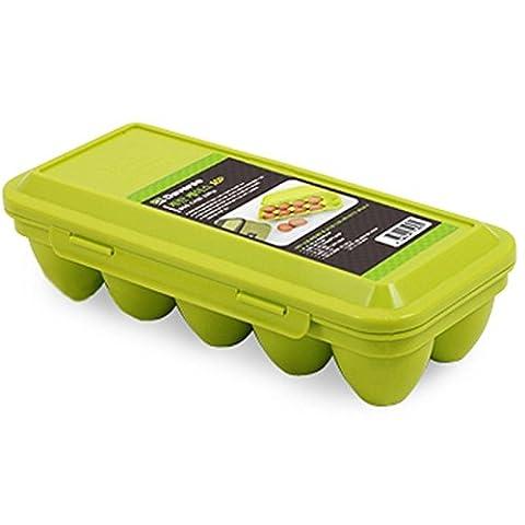 Daverse extérieur portable Œuf de conservation 10pcs Oeuf Coque Nourriture support garder Maison Camping