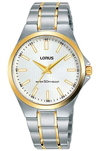 Lorus Classic Montre Femme Analogique Quartz avec Bracelet Acier Inoxydable RG230PX9
