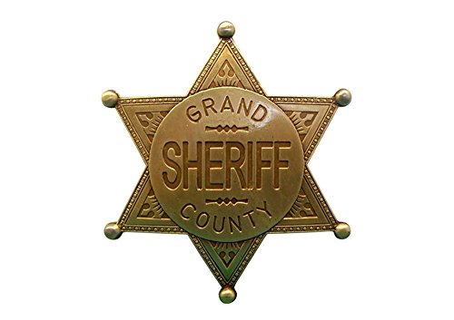Denix Sheriff Stern Grand County messingfarben Cowboy Western