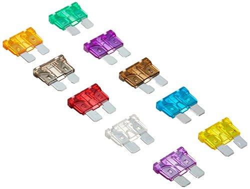 Verschiedene DIGITEN-Standard-Flachsicherungen für Autos, 2A, 3A, 5A, 7,5A ,10A, 15A, 20A, 25A, 30A, 35A (Packung mit 100Stück)