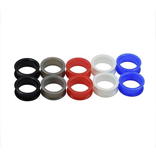 dm-jewelry-10-piezas-de-silicona-espesa-flexible-expansor-de-tunel-de-mezclados-5-colores-ear-plug-p