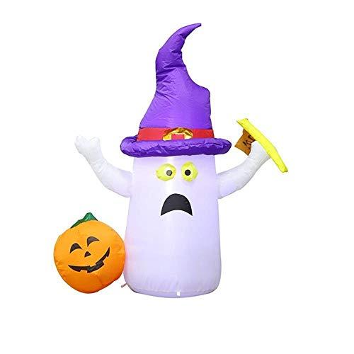 YANKAN Halloween-Aufblasbare Dekoration Leuchten Out/Indoor Gruselige Halloween-Party Garten Dekoration Party AußEnleuchten (103Cm Hoch, Gewicht 0,812 Kg)