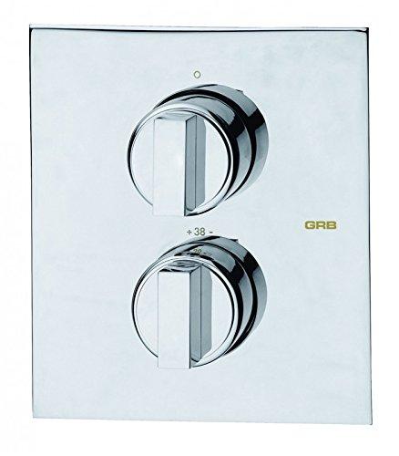 GRB Kala - termostatica encastrement 3 Sortie Chrome