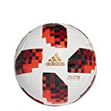 adidas Herren Cup Knock Out Mini Fußball, White/Solar Red/Black, 1