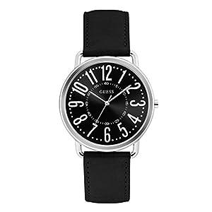 Guess Reloj Analógico para Mujer de Cuarzo con Correa en Cuero W1068L3