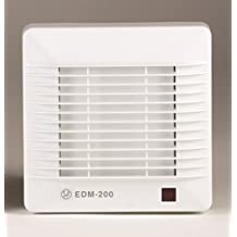 S & p edm-200 - Extractor bano/aseo edm-200s 25w 2500rpm