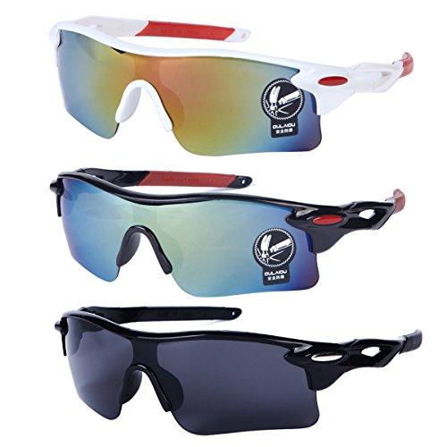 3 PRS Southern Seas Mens Womens Cycling Sports Biking Fishing UV Protection Sunglasses Glasses