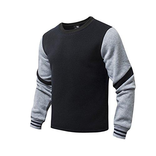 airavata-hombres-algodon-sueter-de-chicos-delgado-ajuste-ligero-prendas-de-vestir-de-color-solido-de