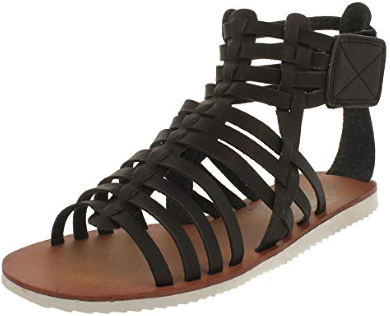 db0b9b3e6f5632 mesdames noir mat roFemme gladiateur plage sandales sandales sandales de  bohème festival b07gbc288z pointure des parents   Une Grande Variété De  Modèles ...