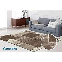 Merinos - Alfombra rectangular con certificado Öko-Tex, 100% Merilon Frisee, color