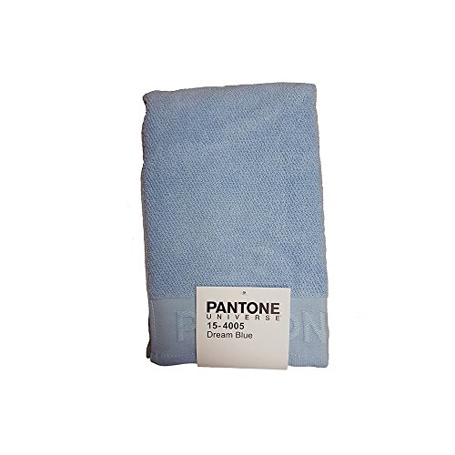 Pantone Asciugamano da Bagno in 100% Cotone, Azzurro Chiaro