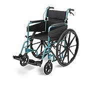 Days Escape Lite Self Propelled Standard Wheelchair, Racing Green