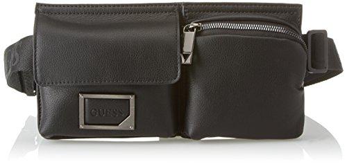 Guess Bags Crossbody, Sacs portés épaule homme, Noir (Black), 2.8x12x24.5 cm (W x H L)