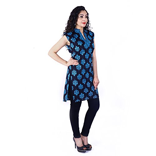 UniqChoice Pure Cotton Attractive Buti(Floral) Printed Kurtis for Women and Girls
