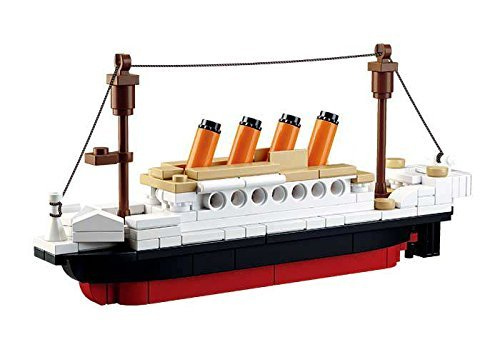 Sluban Bloques de Construccion Titanic Serie Titanic Sma Sma