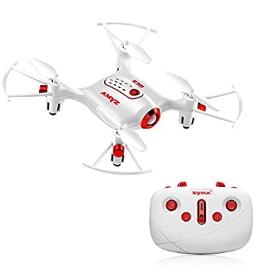 Mini RC Quadcopter DoDoeleph Syma X20 2.4Ghz 6 Axis Remote Control Drone Headless Mode Helicopter With light One Key Take off Landing