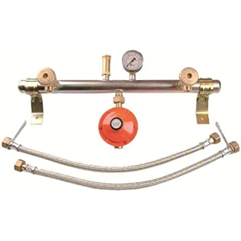 CENTRALINA GAS 2 ELEMENTI (027564) - Tubo Gas Plumbing