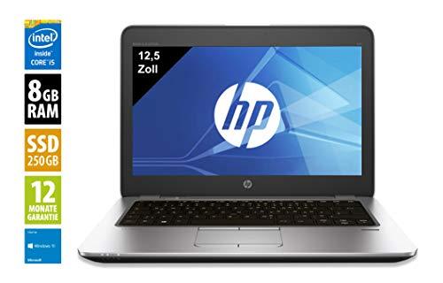 HP Elitebook 850 G3 | Notebook / Laptop | 15,6 Zoll (1920x1080) | Intel Core i5-6300U @ 2,4 GHz | 8GB DDR4 RAM | 256GB SSD | Windows 10 Home (Zertifiziert und Generalüberholt) Elitebook Laptop