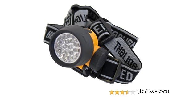21 LED Rolson 61738 Lampe de poche frontale