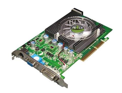 AXLE nVidia GeForce 6600GT 512 MB Grafikkarte (AGP, 512MB DDR2 Speicher, 128-bit 6600 GT Windows 7 VGA, DVI, S-Video)