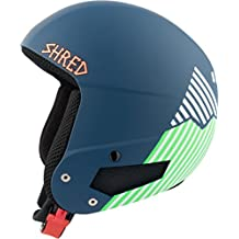 Shred Mega Brain Bucket Rh - Casco de esquí unisex, color azul, talla M-L
