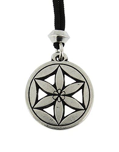 handmade-greek-goddess-flower-of-aphrodite-pewter-pendant