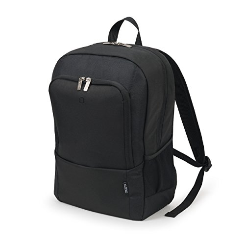 Dicota BASE 13-14.1 Polyester Black backpack - backpacks (Polyester, Black, 33 cm (13), 35.8 cm (14.1), 340 x 245 x 40 mm, 420 x 320 x 170 mm)