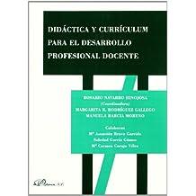 Didáctica y currículum para el desarrollo profesional docente
