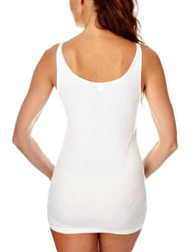 Naturana Damen, Unterhemd, 2516/300 Weiß (White)