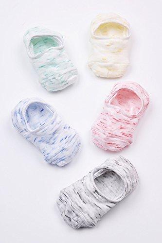 Boot socks weiblichen Baumwolle dünn, leicht Schweiß Schuh koreanischen nationalen Verteidigung im Fall der Geruchshemmende Socken Socken Socken aus Silikon unsichtbar, den gesamten Code in das Licht der Cloud Thread 5 2 (Slip-thread)