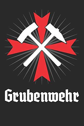 Gebraucht, Grubenwehr: Notizbuch liniert - 128 Seiten gebraucht kaufen  Wird an jeden Ort in Deutschland
