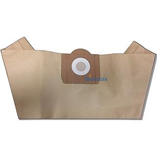 Microsafe® - 20 Filterpapier Staubsaugerbeutel passend für Aldi / FIF NTS 30 NTS 20 NTS30 NTS20