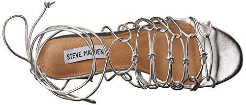Steve Madden Sandale Synthetik Prata Illie pqZXw1xp