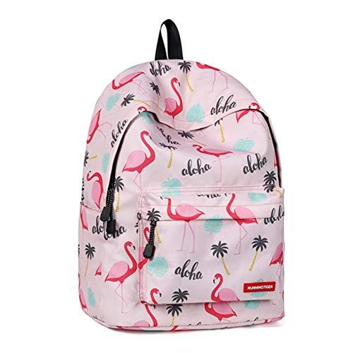 Graffiti-Drucke Rucksack Teen Schulrucksack for Mädchen Stilvolle Studententasche Laptop Schultasche Reisetasche College Bookbag Junge Tasche PNYGJIBB (Color : A, Size : 40 * 17 * 30cm) (Bookbags Jansport Für Jungen)