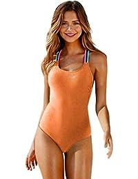 13f13ed0d93e Amazon.es: bañadores mujer - Trajes de una pieza / Ropa de baño: Ropa