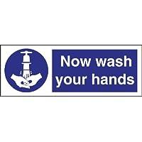 Jetzt Waschen Sie Ihre Hände Symbol Sign Selbstklebende Vinyl. 90 x 230mm. preisvergleich bei billige-tabletten.eu