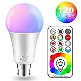 iLC LED Ampoules de couleur Changement de Couleur Ampoule RGB+Blanc Baïonnette - 120...